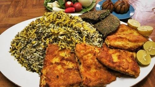 طرز تهیه کلم پلو شیرازی با گوشت چرخ کرده گوسفندی