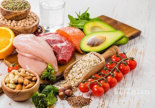 ارتباط تورم بدن با کمبود پروتئین